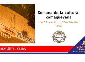 Semana de la cultura en camagüey