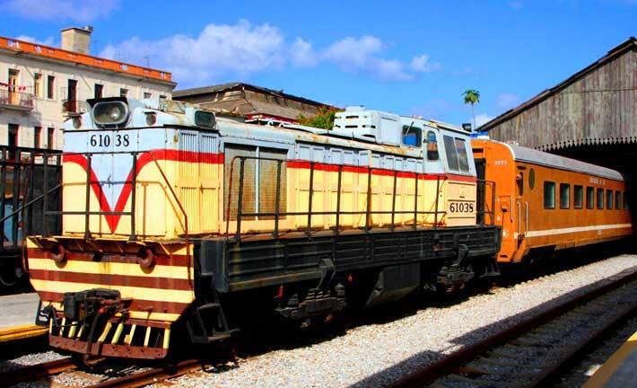El ferrocarril cubano en la actualidad
