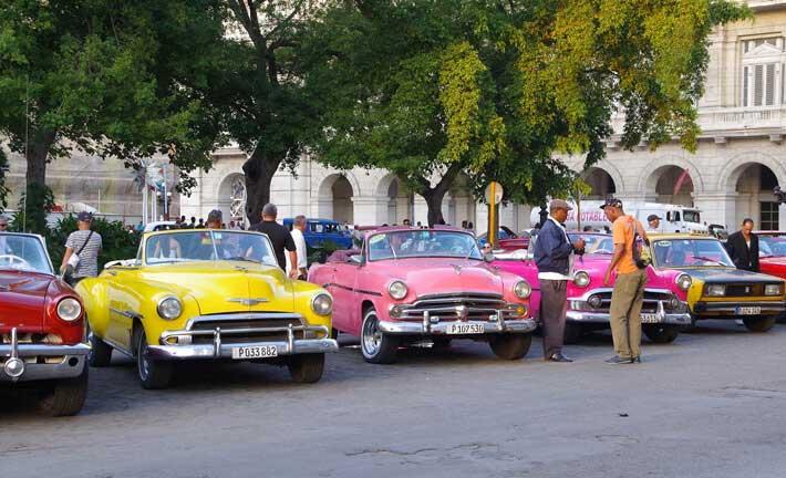 Los medios de transporte cubanos
