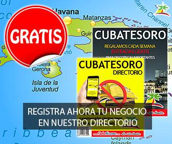 Cuba Tesoro 336×280 Promociona tu negocio con nosotros