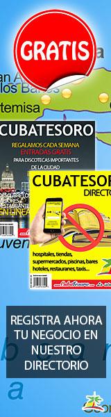 Cuba Tesoro 160×600 Promociona tu negocio con nosotros