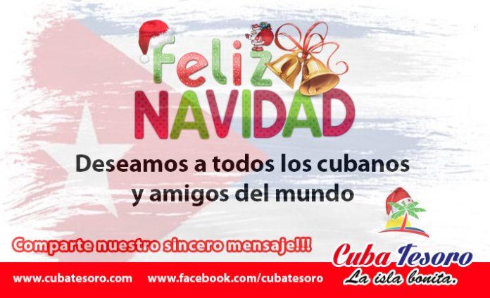Feliz Navidad - Cuba Tesoro