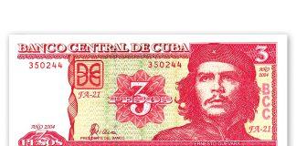 La moneda oficial en Cuba