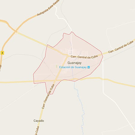 Municipio Guanajay Mapa