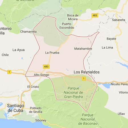 Municipalité de Songo-La Maya - Santiago de Cuba - Cuba