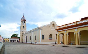 La Plaza del Himno, en la oriental provincia de Granma