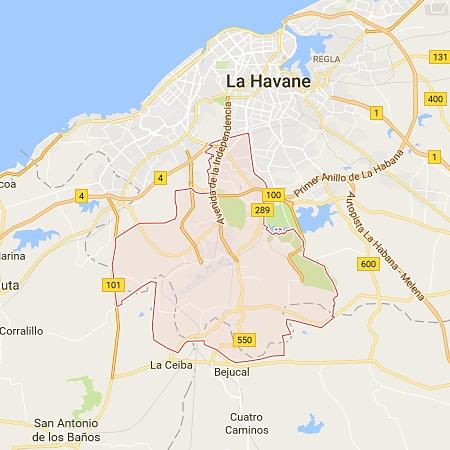 Boyeros La habana Mapa