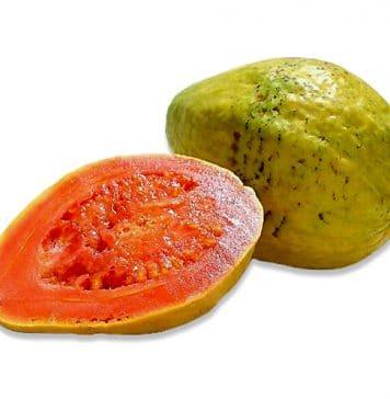 Guayaba - Frutas tropicales presentes en Cuba