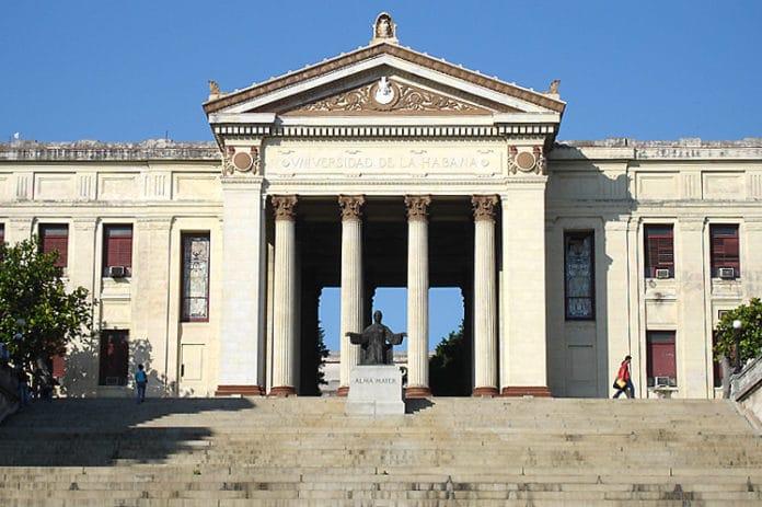 Universidad de La Habana o La Universidad de San Gerónimo de La Habana